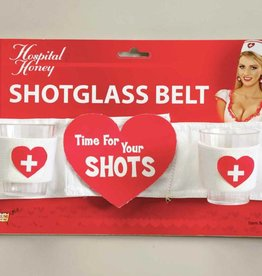 Hospital Honey shot Glass Belt