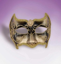 Venetian Mask Gold And Black