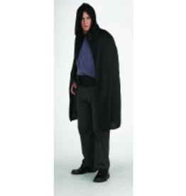"45"" Hooded Cape Black"