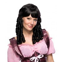 Baby Doll Black Wig