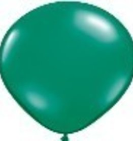 "16"" Balloon Emerald Green 1 Dozen Flat"