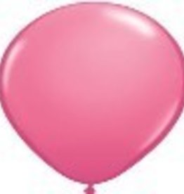 "16"" Balloon Hot Rose 1 Dozen Flat"