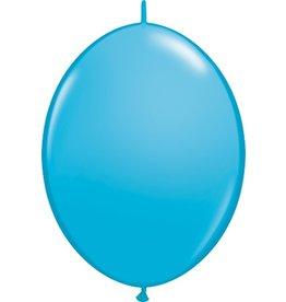 """12"""" Robin's Egg Blue Linking Balloons 1 Dozen Flat"""
