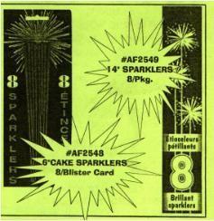"14"" Sparklers"