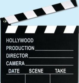 Movie Set Clapboard