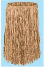 Adult Raffia Hula Skirt Natural