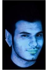 Blue Alien Ears