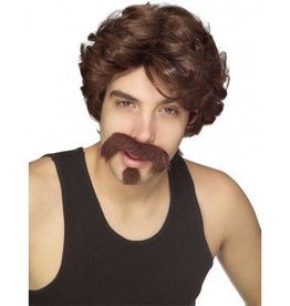 Big John Moustache and Wig
