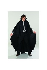 Cape Adlt Long Black