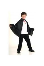 Black Cape with Collar (Child Size)