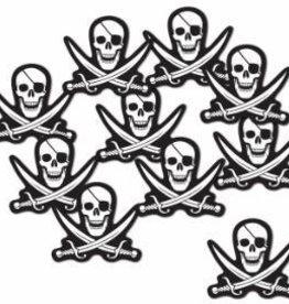 "Mini Pirate Cutouts 5"" 10pk"