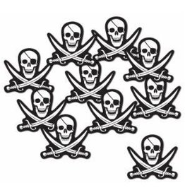 "Mini Pirate Cutouts 5"" 10pk"