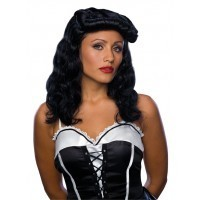 Cigar Girl Wig Black
