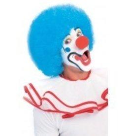 Clown Light Blue Wig