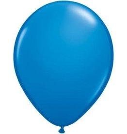 """5"""" Balloon Dark Blue  1 Dozen Flat"""