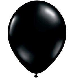 """5"""" Balloon Onyx Black 1 Dozen Flat"""