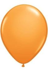 "5"" Balloon Orange 1 Dozen Flat"
