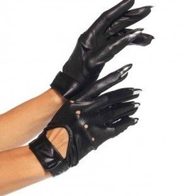 Claw Motorcycle Gloves Black