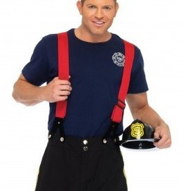 Men's Costume Fire Captain M/L