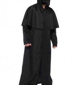 Men's Costume Hood Button Front Cloak XLarge