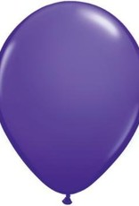 "5"" Balloon Purple Violet 1 Dozen Flat"