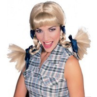 Country Girl Blonde Wig