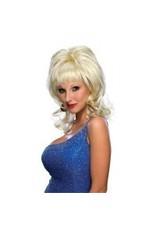 Country Singer Blonde Wig
