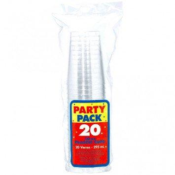 10oz Clear Tumbler 20ct