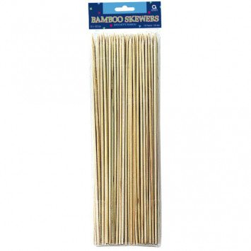 "12"" Bamboo Skewers 100pc"