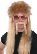 18 Wheeler Moustache and Wig