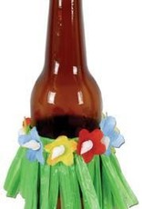 Drink Hula Skirts Assorted Colours 4Pk