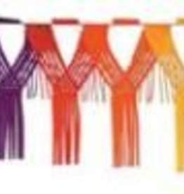 Drop Fringe Garland Rainbow