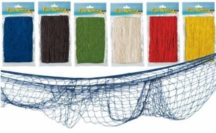 Fish Netting Natural White 1Pk