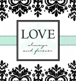 Always & Forever Lunch Napkin 16pc