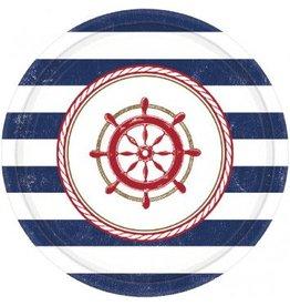 "Anchors Aweigh 7"" Plate (8)"