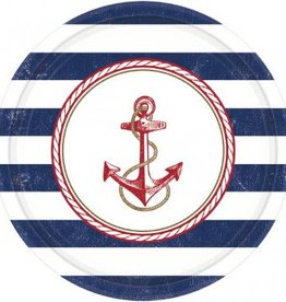 Anchors Aweigh Large Plates