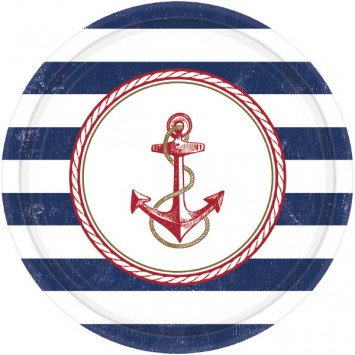 Anchors Aweigh Large Plates (8)