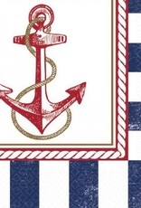 Anchors Aweigh Lunch Napkins