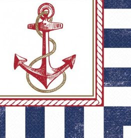 Anchors Aweigh Lunch Napkins (16)