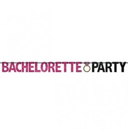 12ft Bachelorette Party Glitter Banner