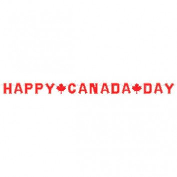 Banner Happy Canada Day