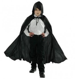 Black Hooded Cape (Child Size)