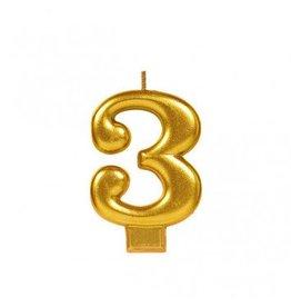 #3 Metallic Candle Gold