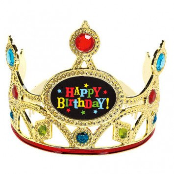 Bday Bright Plst Tiara