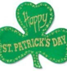 St Patricks Glitter Foil Shamrock