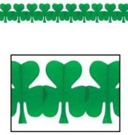 St Patricks Clover Garland