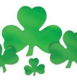 "St Patricks Clover Cutout 12"""