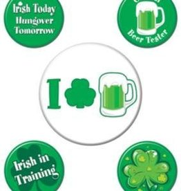 St Patricks Button Set