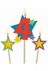 #4 Decorative Pick Candles