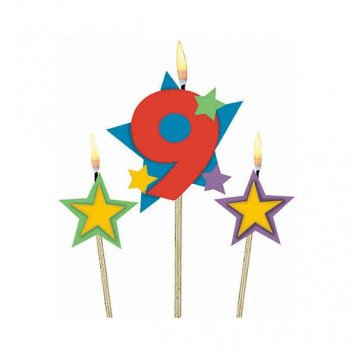 #9 Decorative Pick Candles